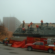 Barrie Jail new roof