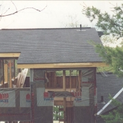 new shingle roof, new cottage