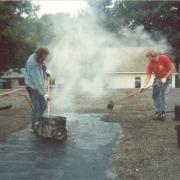 tar gravel roof repair