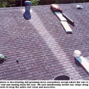 zinc strips roofing